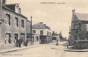 CPA-14-CAUMONT-L-039-EVENTRE-RUE-DE-CAEN