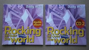 2  x UNUSED DAILY MAIL CDs  ROCKING ALL OVER THE WORLD CD1 amp CD2 - Colchester, United Kingdom - 2  x UNUSED DAILY MAIL CDs  ROCKING ALL OVER THE WORLD CD1 amp CD2 - Colchester, United Kingdom