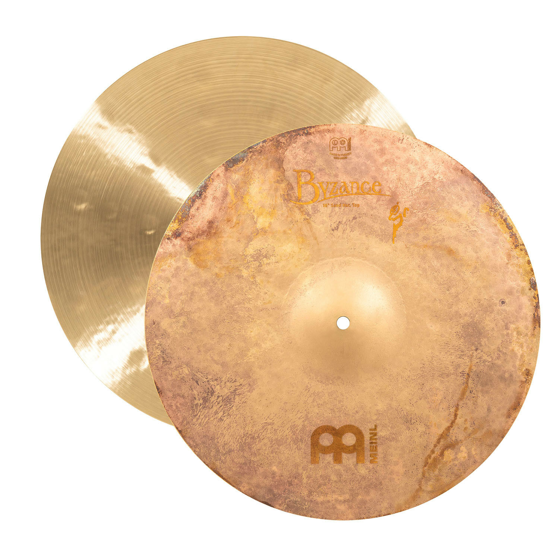 Meinl 16  Byzance Vintage Benny Greb Sand Hi-Hat Cymbals B16SAH