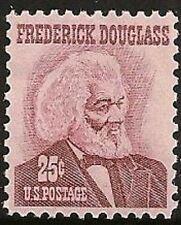 US 1290 Frederick Douglass 25c single MNH 1967