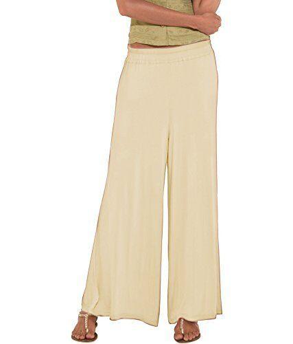 Le Prix Le Moins Cher Ready évasée Casual Trouser Pant Plain Rayonne Palazzo Élégant Bas Nouveau Pantalon Blanc De Jade