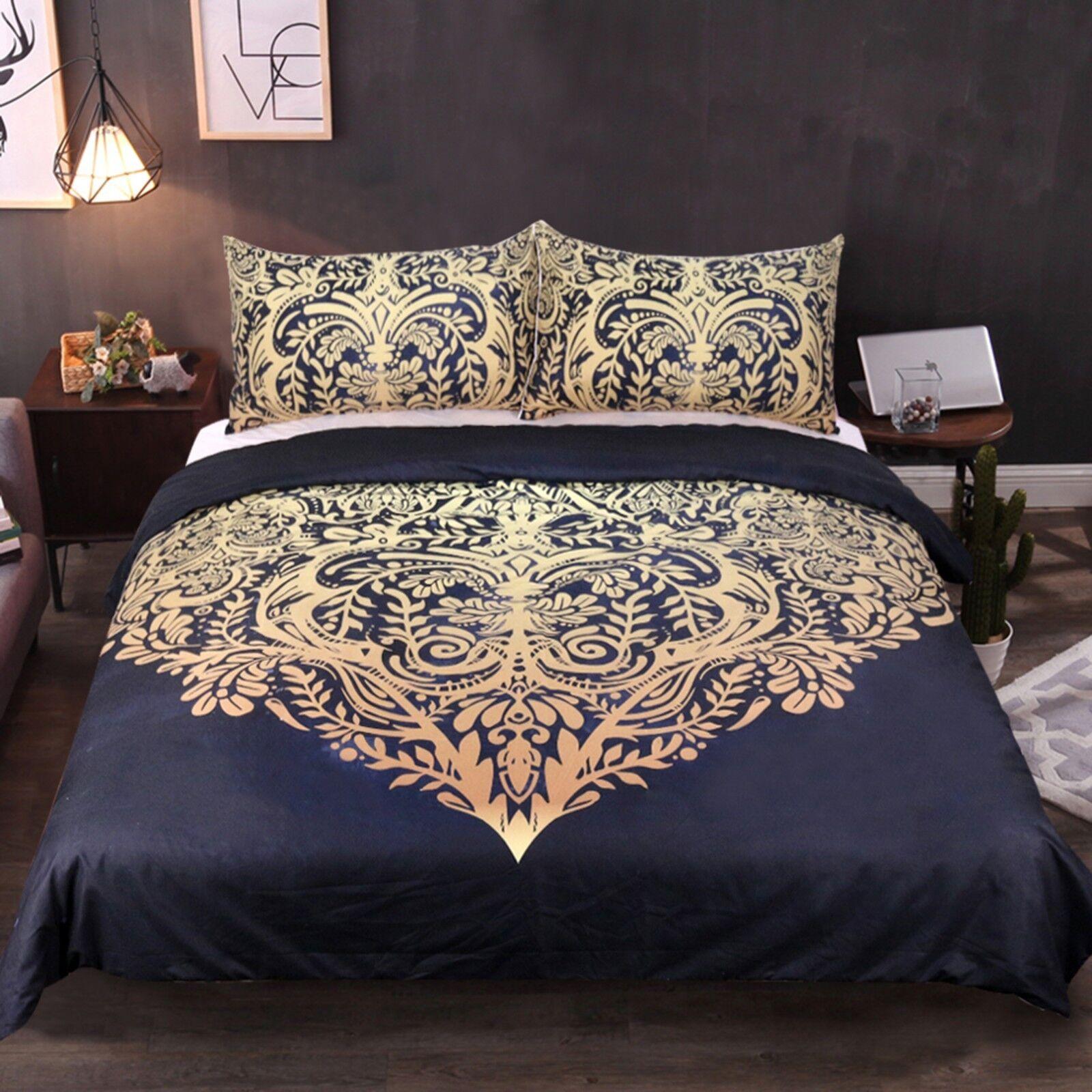 3D Vine Pattern 56 Bed Pillowcases Quilt Duvet Cover Set Single Queen King AU