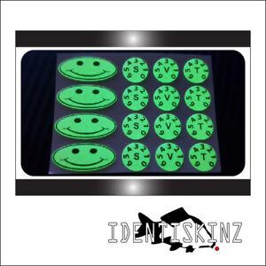 Delkim TXI PLUS EV STD Delkim style oval /& dial sticker decal set UNION JACK KIT