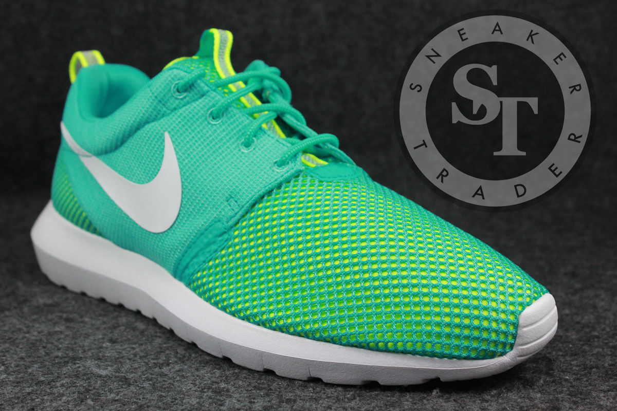 NIKE ROSHERUN NM BR 644425-402 LIGHT RETRO blanc VOLT DS SIZE: 12