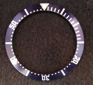 Details about NEW AFTERMARKET BEZEL INSERT FOR OMEGA SEAMASTER 41MM WATCH -  NAVY/BLUE OR BLACK