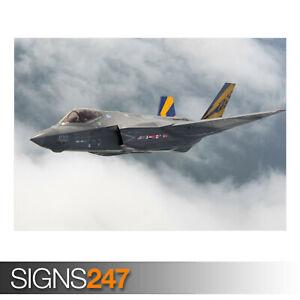 F-35-C-AIRCRAFT-AE905-Photo-Picture-Poster-Print-Art-A0-A1-A2-A3-A4