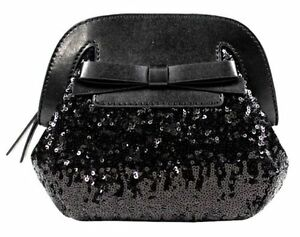 3c09ba5a6240 NWT Kate Spade Riva Road Sequins Small Scotty Black Crossbody ...
