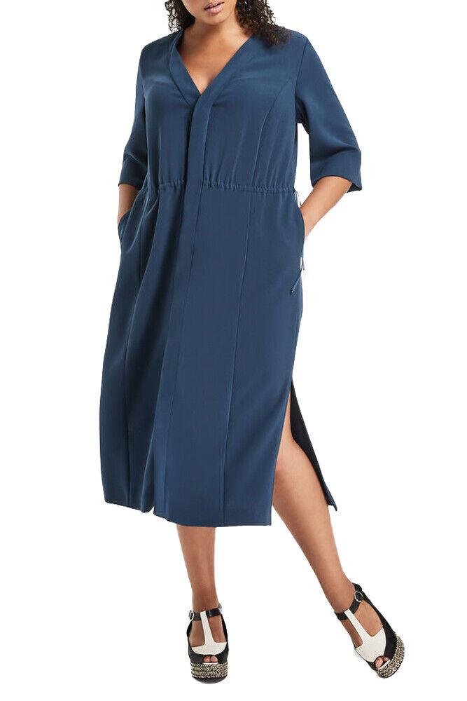 MARINA RINALDI para mujeres Vestido Recto verde Azulado desde   755 Nuevo con etiquetas  tienda de venta en línea