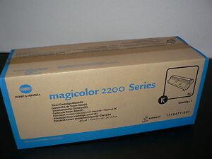 Original Konica Minolta Toner BLACK 1710471-001 für Magicolor 2200 Series