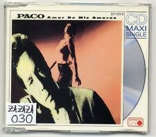 Paco Maxi-CD amor de Mis Amores-German 3-Track 871 123-2 - SLIM JEWELCASE