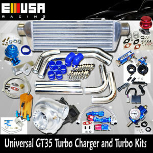Details about Universal GT35 Turbo Kits 0 70A/R Ford F150 F250 F350 Quick  Spooling NEW@@