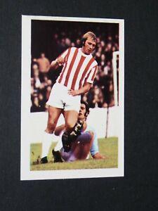 #262 JIMMY GREENHOFF STOKE CITY POTTERS FKS PANINI FOOTBALL ENGLAND 1972-1973