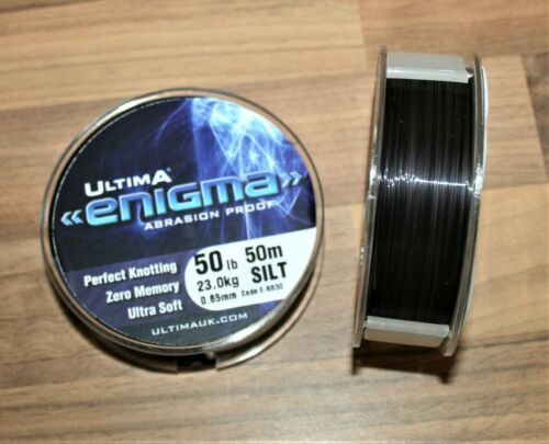 Ultima Enigma Super Snood Limon Ligne de pêche Bobines de 50 m