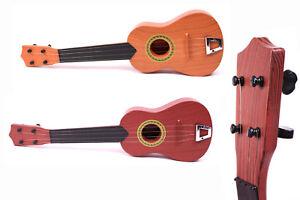 schoene-Kinder-Spielzeuggitarre-HOLZ-Optik-L-56-cm-Akustik-Gitarre-Kindergitarre