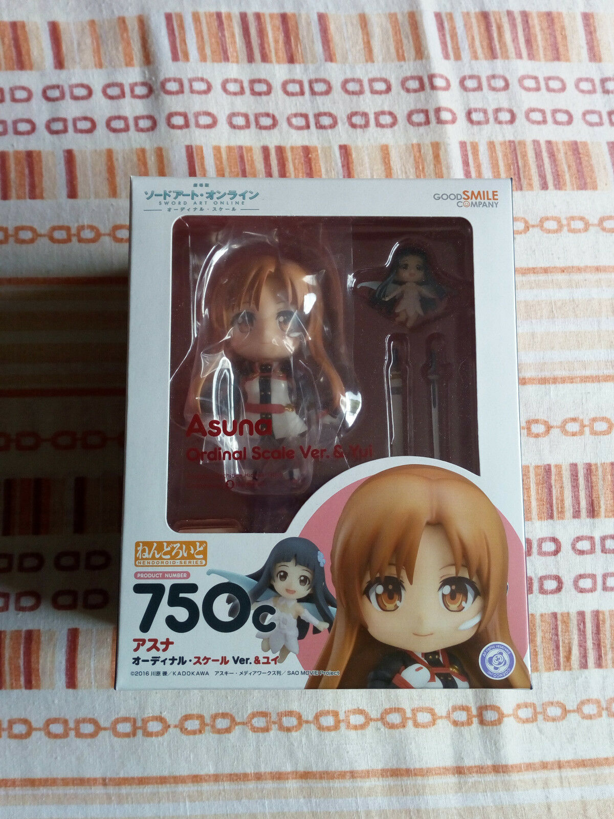 Asuna nendoroid n°750c (Sword Art Online Ordinal Scale) - Good Smile Company