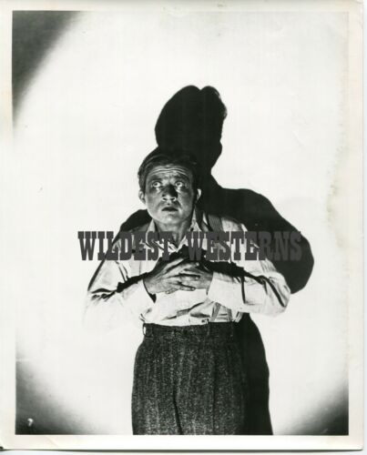 VINTAGE Frankenstein & Dracula Star DWIGHT FRYE neurotic PHOTO rare pic