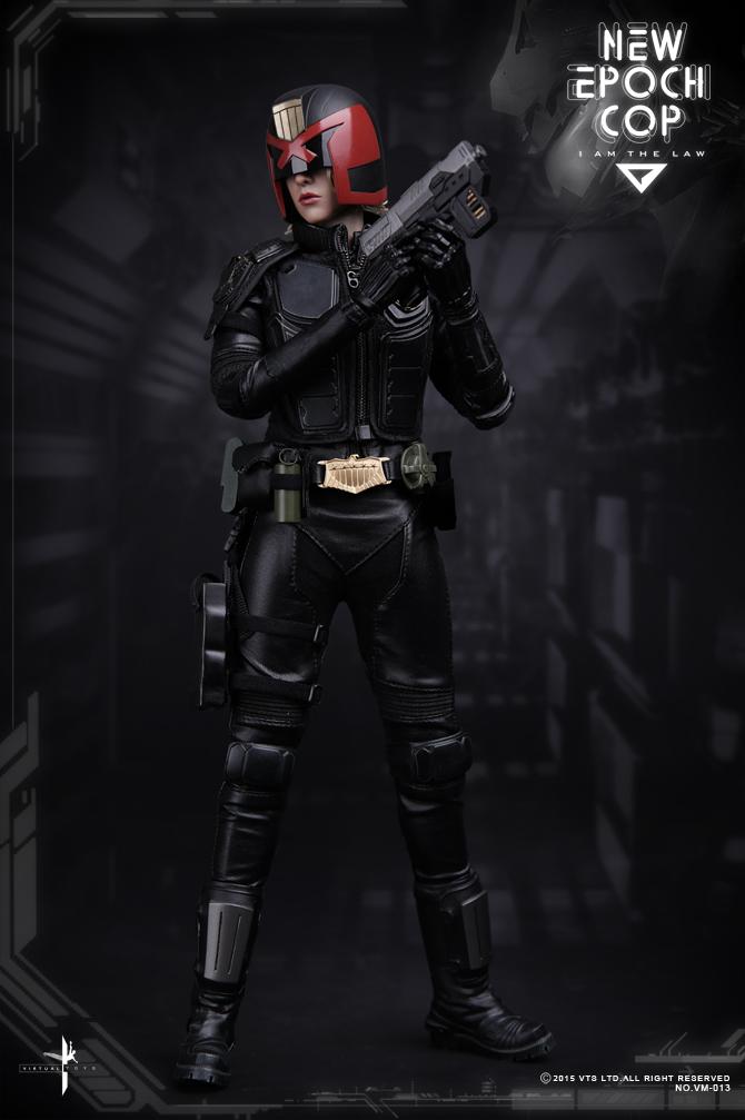 1 6 VTS Virtual Toys VM013 New Epoch Epoch Epoch Cop Female Dredd Cassandra Anderson Figure 1042d3