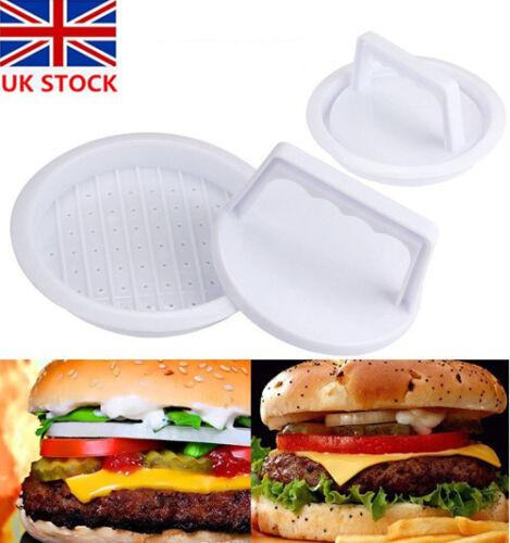 Plastic Hamburger Meat Compactor Press Mold Grill  Maker Kitchen Tools 32
