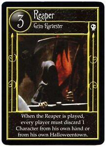 Reaper - Nightmare Before Christmas Rare 2005 Neca Character TCG Card (C1753)