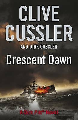 1 of 1 - Crescent Dawn by Clive Cussler - Large Hardcover - 20% Bulk Book Discount