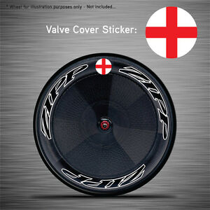 Zipp Hed Corima FFWD VCS030-6x England Flag Disc Wheel Valve Covers//Patches