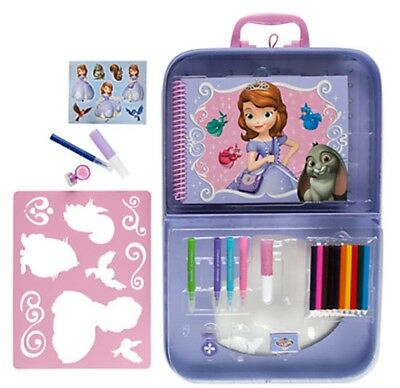 Disney DOC McStuffins paint set book coloring art set kids fun portfolio set
