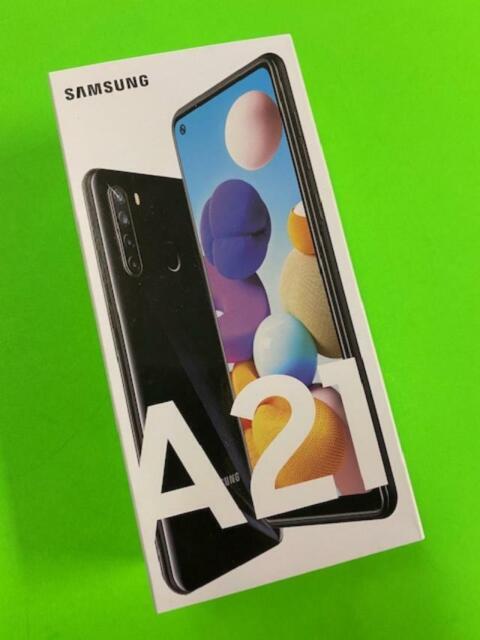 Samsung  Galaxy A21 - 32GB - Black-A215U - 4G LTE (UNLOCKED) Brand New Sealed