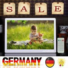 "15,6 ""Zoll HD LCD Digital Bilderrahmen Bild MP4 Film MP3 Player Fernbedienung"