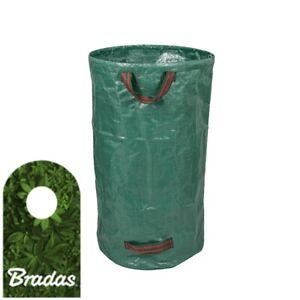 Faltbarer-Laub-Garten-Rasensack-Gartenabfallsack-Laubsammler-120L-BRADAS-2303