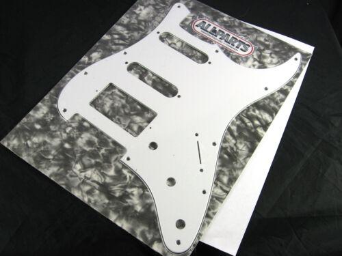 Allparts Fat Strat Pickguard White 3 ply HSS 11 Hole PG 0995-035