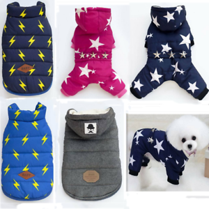 Dog-Cat-Coat-Jacket-Pet-Lightning-Clothes-Winter-Apparel-Clothing-Puppy-Costume