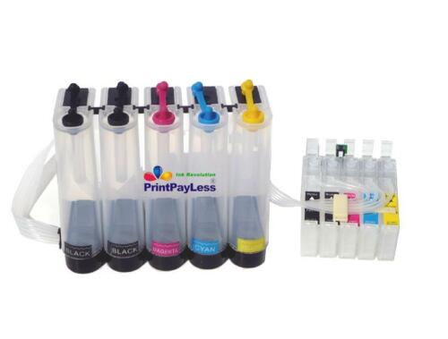 Dye,Sublimation,Pigment,Edible Ink WF-1100 Empty CISS for Epson non-OEM C120