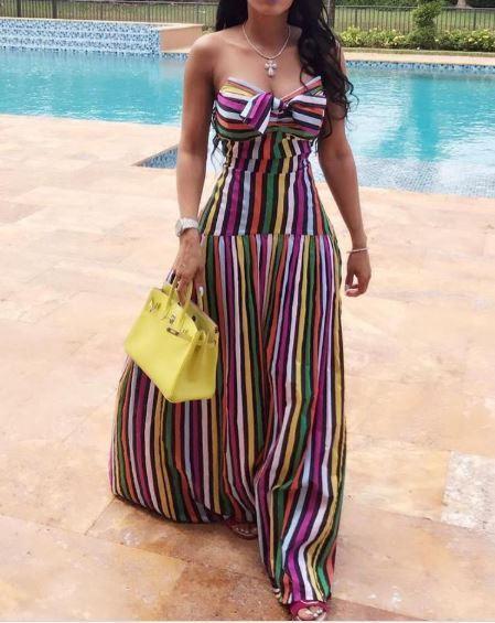 Vestito abito slim donna lungo corpetto leggero manica manica manica elegante coloreato 4679 c63485