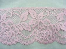 Flat Lace Dusty Rose 70mm wide  1.5 metres (2144)