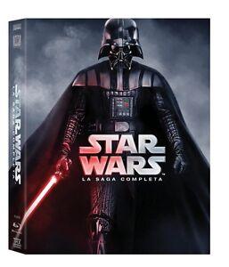 STAR-WARS-La-Saga-Completa-9-Blu-Ray-COFANETTO-nuovo-sigillato