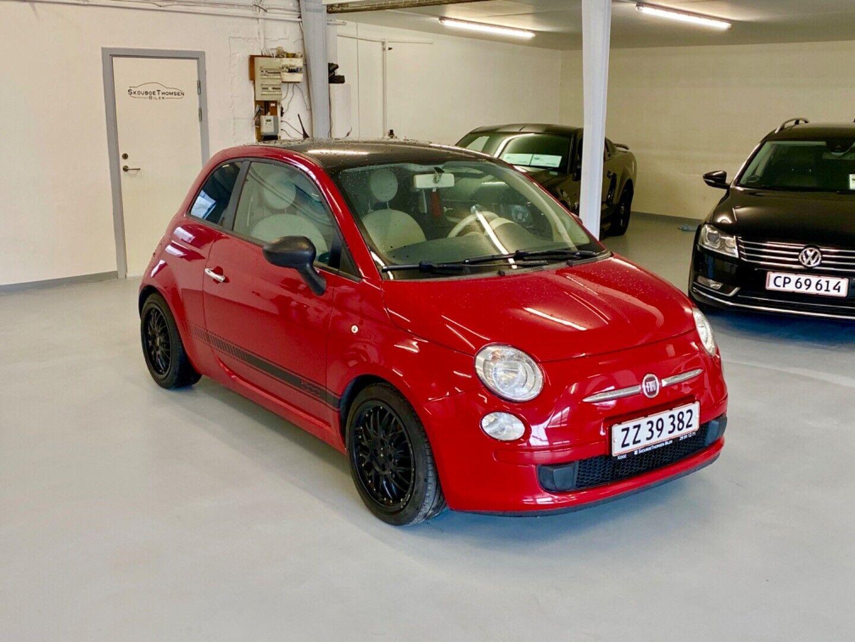 Fiat 500 1,2 Pop 3d - 39.900 kr.