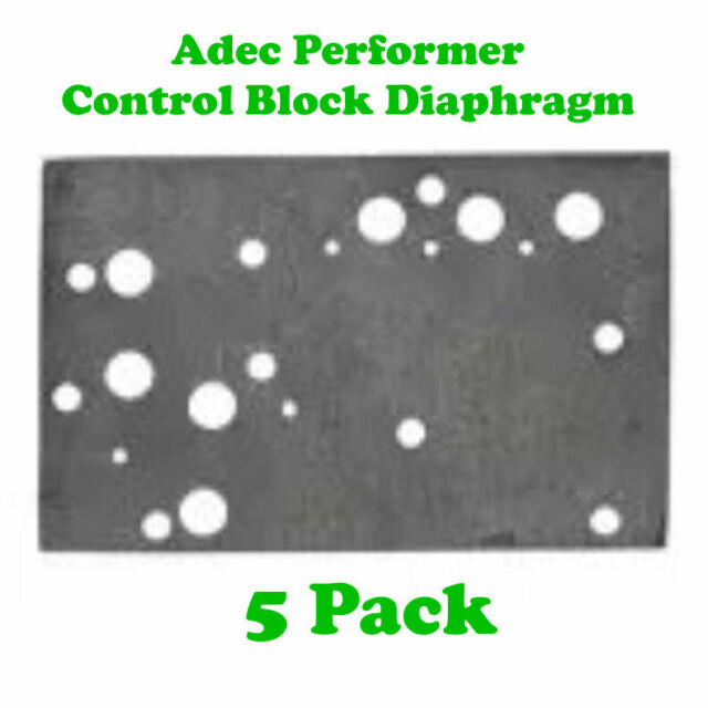 Adec Performer Control Block Diaphragm (5pk) (DCI #9319)