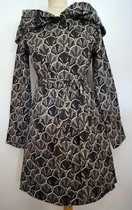 cape en 229 tricot sergé manteau de grosse court avec coton vwaIOq