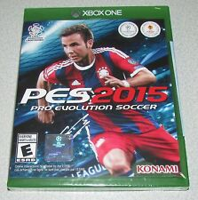 Pro Evolution Soccer 2015 for XBox One Brand New! Factory Sealed!