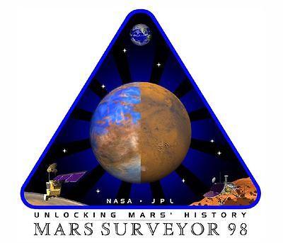 Nasa Mars Surveyor Sticker Armed Forces Decal M458