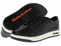 Harley Davidson Jez Mens Black Leather Motorcycle Shoes D93133