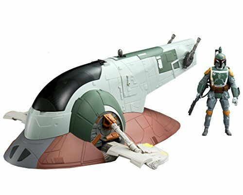 Star Wars THE FORCE AWAKENS Mid vehicle SLAVE 1 Boba Fett figure from Japan F S