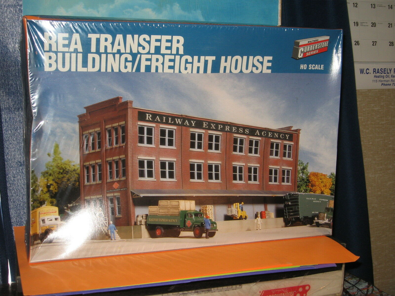 WALTHERS CORNERSTONE SERIES HO SCALE  933-3095 REA TRANSFER BLDG/ FREIGHT HOUSE