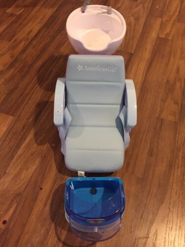 American Girl Pedicure Chair WAccerssories