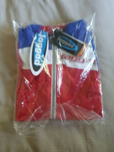 Jaggad Quest Cycling Vest Red//Blue Large