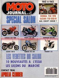 MOTO-JOURNAL-966-Essai-Road-Test-HONDA-VFR-Carat-750-GSX-R-SUZUKI-NSU-Max-OSL