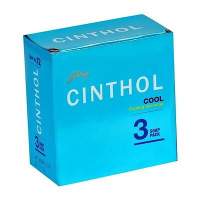 Cinthol Cool Cooling Deo Soap 100gm ( Pack of 3 )