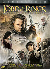 The Lord of the Rings: The Return of the King (DVD, 2004, 2-Disc Set, Wide