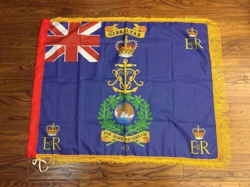 Royal Marines 40 Commando Regimental colours flag