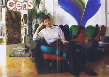 COUPURE DE PRESSE CLIPPING 1987 Isabella Rossellini  (4 pages)